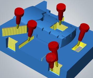 90 Prozent Zeiteinsparung mit dem 5-Achs-tangentialen Ebenenschlichten / Bildquelle: OPEN MIND
