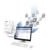 Hochgeschwindigkeitsarchiv der WMD für die digitale Archivierung geschäftskritischer Unternehmensdaten und -dokumente. Abb. WMD