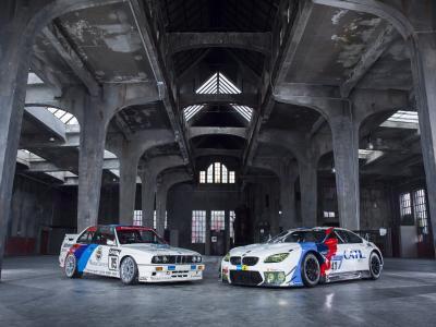 BMW M6 GT3, BMW M3 E30
