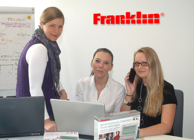 Personalie: Franklin Electronic Publishers GmbH