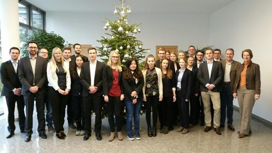 Once Again a successful Collaboration: Students of the University Paderborn and arvato Systems