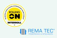 Interroll begrüßt 50. Rolling On Interroll-Partner
