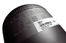 ContiTech has created an individual GTIN for each air spring reference. Products and packages can be easily identified at all times using this code (Photo: ContiTech)