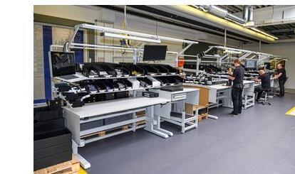 Fließfertigung bei SKS Welding Systems