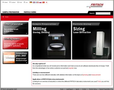 NEW FRITSCH-Homepage