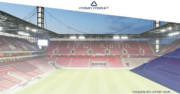 COSMO CONSULT Köln zeigt im RheinEnergieSTADION, wie man mit modernen Businesslösungen fit für die Zukunft wird