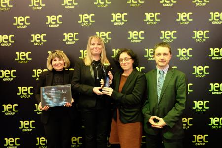 Faurecia gewinnt mit seinen Leichtbaulösungen zwei JEC Innovation Awards 2017