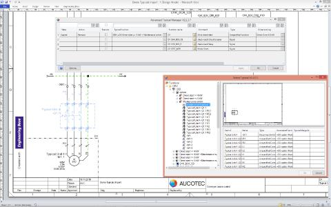 Easy and clear configuring of functions: the equipment options determine the variants / © AUCOTEC AG