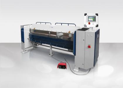 Schwenkbiegemaschine MAKV S mit patentierter Exzenterschnellklemmung / Bildquelle: Schröder Group