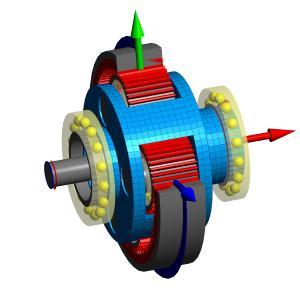 Planetengetriebe mit elastischem Planetenträger