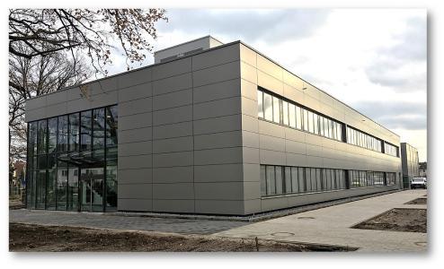 Laborneubau in Hannover, Bild: HÜTTENES-ALBERTUS