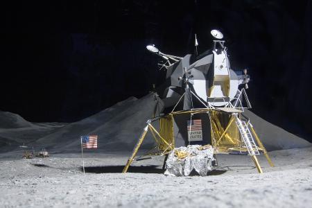 Jahrhundertereignis: Ein Mensch betritt den Mond!