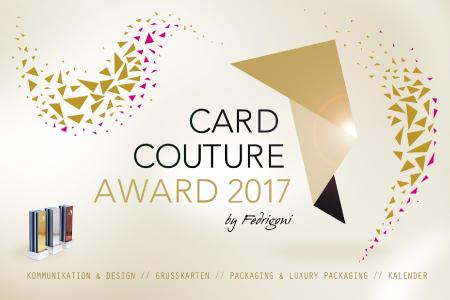 Card Couture Award 2017 Keyvisual