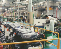 Produktionshalle bei Honda