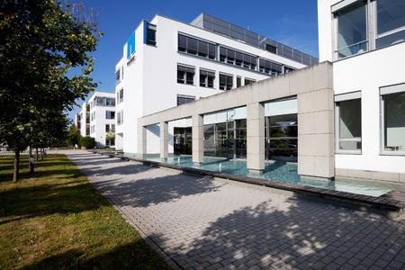 Deutschlandzentrale von NetApp - Außenansicht