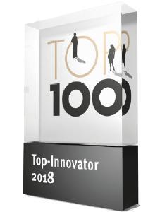MedTec Medizintechnik bereits zum 3. Mal als TOP 100 Top-Innovator ausgezeichnet
