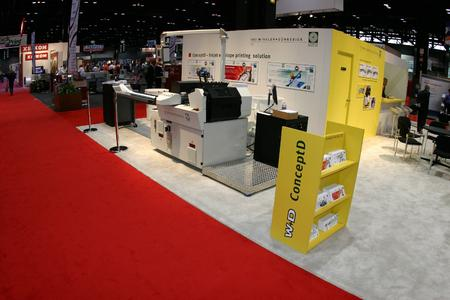 The ConceptD provides high quality, high volume ink jet printing for the personalized direct mail segment capable of up to 30,000 envelopes per hour inkjet with variable data
