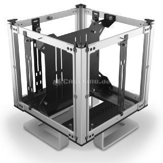 Neu bei Caseking: Lüfterloser Streacom DB4 Design-Cube & Transportabler Streacom BC1 Benchtable aus Premium-Aluminium!