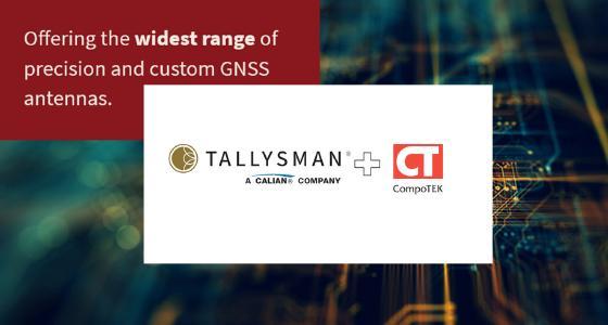 CompoTEK Gold Precision Partner von Tallysman