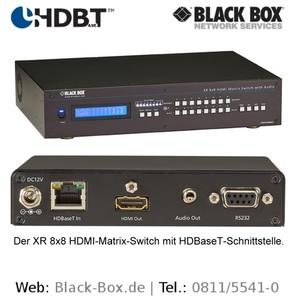 HDBaseT-Produkte von Black Box Deutschland.