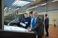 Printing company Grafotisak using Push to Stop concept from Heidelberg for book production