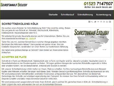 Schrottankauf-Exclusiv in Köln