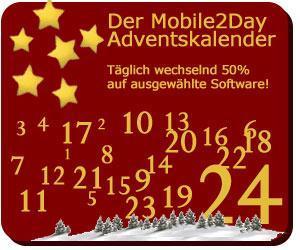 Der Mobile2Day Adventskalender