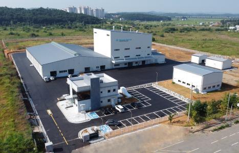 韓国/ 高機能フィラー製造用のハイテク工場