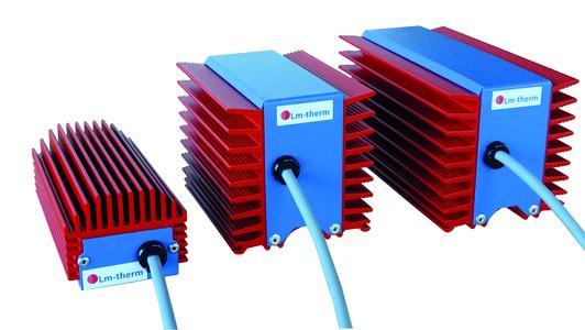 Die neuen kompakten Schaltschrankheizungen von Lm-therm überzeugen technisch wie optisch (Bild: Lm-therm Elektrotechnik AG)