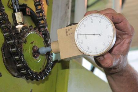 Vorgänger des mechanischen Handtachometers htm