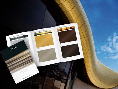 Aluminium-Verbundplatten ALPOLIC™ reAL Anodised mit  echtem Eloxal in 7 Farbnuancen. Fordern Sie die Farbkarte an!