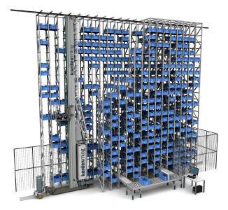 Kardex Mlog präsentierte das automatische Behälterlager MDynamic auf der LogiMAT 2017