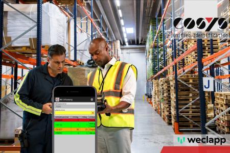 COSYS Lagerverwaltungssoftware hilft bei Lagerbewirtschaftung mit dem weclapp ERP