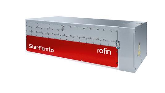 StarFemto – die neue industrielle Femtosekundenstrahlquelle