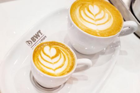 BWT water+more liefert den Ausstellern der World of Coffee ideales Wasser für ihre Kaffeespezialitäten. /Foto: Daniela Linares Leandro