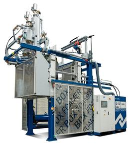 Kurtz BOX FOAMER for Economical and Sustainable Box Production