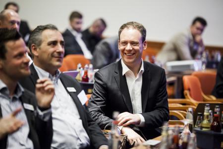 Henning Meyer auf der acmeo Partnerkonferenz