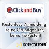 Kooperation: SmartStore und ClickandBuy