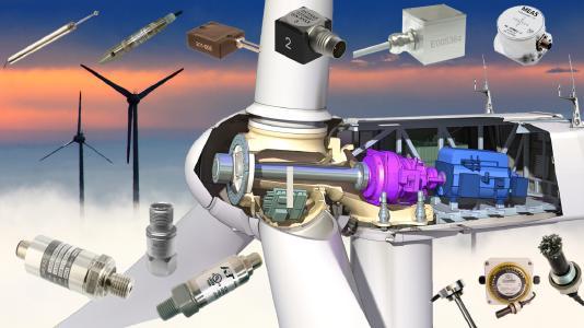 Besonders robuste und zuverlässige Sensoren für (Auf-)Windkraftanlagen!