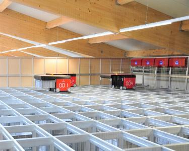 Mit dem neuen robotergestützten Automatiklager rationalisiert und vereinfacht Esders die betriebsinternen Logistikprozesse