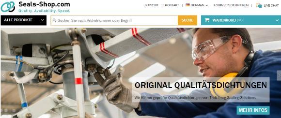 Seals-Shop original Trelleborg Qualitätsdichtungen