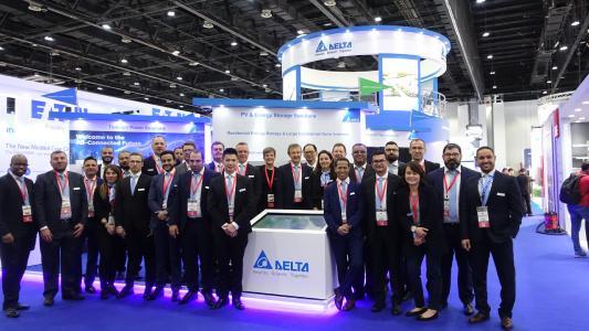 Deltas breites Angebot an energieeffizienten Lösungen für intelligente Städte, präsentiert auf der Middle East Electricity 2019