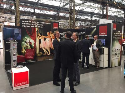 Am Stand C058 in Halle 7 präsentiert Laudert gemeinsam mit seinem Technologie-Partner OXID eSales alles Wissenswerte rund um Onlineshop-Implementierungen und Produkt-Content-Erstlleung