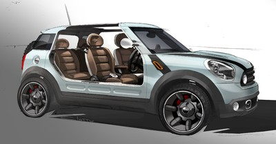 Design sketch MINI Beachcomber Concept