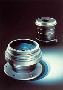 ContiTech is presenting high-tech solutions for primary and secondary suspension in rail vehicles, including MEGI® brand conical springs / Photo: ContiTech