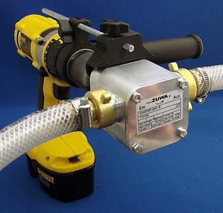 New Adaptor for ZUWA Drill Powered Pumps