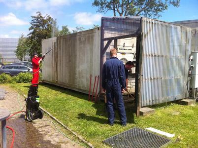 Laborversuch und Weiterbildung an der Kühlcontaineranlage im Kielseng jetzt möglich