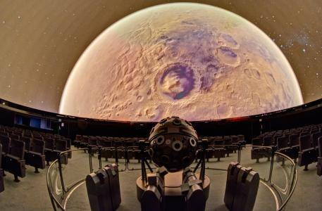 Anflug auf den Planeten Mars. (c) Frank-Michael Arndt