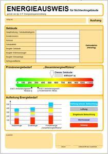 Energieausweis für Nichtwohngebäude (Quelle: www.dena.de)