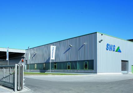Teilansicht der Firmengebäude der Sächsischen Walzengravur GmbH